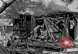 Image of F-86 Sabre jet crashes into residential neighborhood during landing Signal Hill California USA, 1954, second 45 stock footage video 65675041488