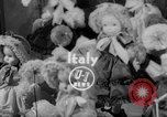 Image of International doll show Italy, 1954, second 1 stock footage video 65675041492