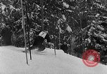 Image of skiing competition Switzerland, 1954, second 10 stock footage video 65675041496