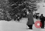 Image of skiing competition Switzerland, 1954, second 13 stock footage video 65675041496