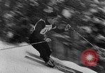Image of skiing competition Switzerland, 1954, second 16 stock footage video 65675041496