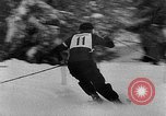 Image of skiing competition Switzerland, 1954, second 17 stock footage video 65675041496