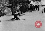 Image of skiing competition Switzerland, 1954, second 18 stock footage video 65675041496