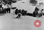 Image of skiing competition Switzerland, 1954, second 20 stock footage video 65675041496