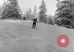 Image of skiing competition Switzerland, 1954, second 25 stock footage video 65675041496