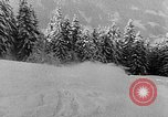Image of skiing competition Switzerland, 1954, second 27 stock footage video 65675041496