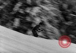 Image of skiing competition Switzerland, 1954, second 28 stock footage video 65675041496