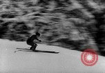 Image of skiing competition Switzerland, 1954, second 29 stock footage video 65675041496