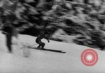 Image of skiing competition Switzerland, 1954, second 30 stock footage video 65675041496