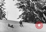 Image of skiing competition Switzerland, 1954, second 34 stock footage video 65675041496