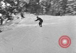 Image of skiing competition Switzerland, 1954, second 36 stock footage video 65675041496