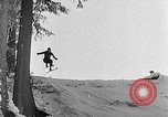 Image of skiing competition Switzerland, 1954, second 39 stock footage video 65675041496