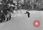 Image of skiing competition Switzerland, 1954, second 42 stock footage video 65675041496