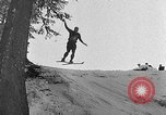 Image of skiing competition Switzerland, 1954, second 45 stock footage video 65675041496