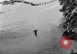 Image of skiing competition Switzerland, 1954, second 47 stock footage video 65675041496