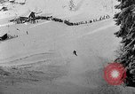 Image of skiing competition Switzerland, 1954, second 48 stock footage video 65675041496