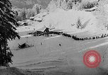 Image of skiing competition Switzerland, 1954, second 50 stock footage video 65675041496