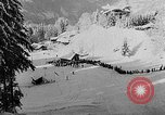 Image of skiing competition Switzerland, 1954, second 51 stock footage video 65675041496