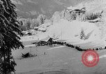Image of skiing competition Switzerland, 1954, second 52 stock footage video 65675041496