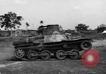 Image of Japanese tank testing India, 1944, second 9 stock footage video 65675041504