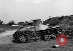 Image of Japanese tank testing India, 1944, second 12 stock footage video 65675041504