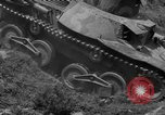 Image of Captured Japanese tank India, 1944, second 36 stock footage video 65675041506
