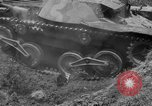 Image of Captured Japanese tank India, 1944, second 40 stock footage video 65675041506