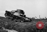 Image of Japanese tank crosses ditch India, 1944, second 9 stock footage video 65675041509