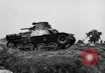 Image of Japanese tank crosses ditch India, 1944, second 14 stock footage video 65675041509