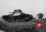 Image of Japanese tank crosses ditch India, 1944, second 15 stock footage video 65675041509