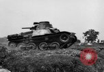 Image of Japanese tank crosses ditch India, 1944, second 17 stock footage video 65675041509