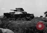 Image of Japanese tank crosses ditch India, 1944, second 33 stock footage video 65675041509