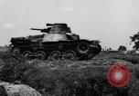Image of Japanese tank crosses ditch India, 1944, second 35 stock footage video 65675041509