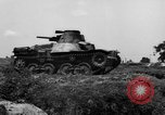 Image of Japanese tank crosses ditch India, 1944, second 41 stock footage video 65675041509