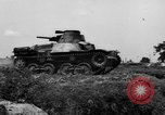 Image of Japanese tank crosses ditch India, 1944, second 43 stock footage video 65675041509