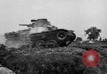 Image of Japanese tank crosses ditch India, 1944, second 49 stock footage video 65675041509
