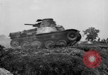 Image of Japanese tank crosses ditch India, 1944, second 50 stock footage video 65675041509