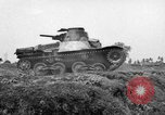 Image of Japanese tank crosses ditch India, 1944, second 55 stock footage video 65675041509