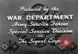 Image of tank destroyers United States USA, 1943, second 22 stock footage video 65675041516