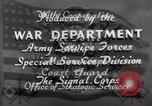 Image of tank destroyers United States USA, 1943, second 28 stock footage video 65675041516
