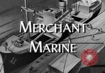 Image of World War 2 Merchant Seamans Club West 43rd Street New York City USA, 1943, second 2 stock footage video 65675041519