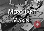 Image of World War 2 Merchant Seamans Club West 43rd Street New York City USA, 1943, second 3 stock footage video 65675041519