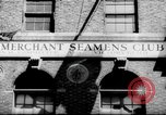 Image of World War 2 Merchant Seamans Club West 43rd Street New York City USA, 1943, second 25 stock footage video 65675041519