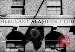 Image of World War 2 Merchant Seamans Club West 43rd Street New York City USA, 1943, second 26 stock footage video 65675041519