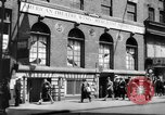 Image of World War 2 Merchant Seamans Club West 43rd Street New York City USA, 1943, second 29 stock footage video 65675041519