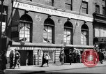 Image of World War 2 Merchant Seamans Club West 43rd Street New York City USA, 1943, second 30 stock footage video 65675041519