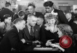 Image of World War 2 Merchant Seamans Club West 43rd Street New York City USA, 1943, second 47 stock footage video 65675041519