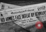 Image of German forces invade the soviet Union Soviet Union, 1941, second 41 stock footage video 65675041523