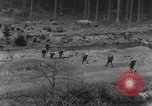 Image of Troops of US 16th Infantry Regiment advance toward St. Andreasberg Germany, 1945, second 17 stock footage video 65675041534