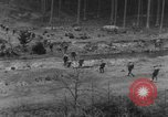 Image of Troops of US 16th Infantry Regiment advance toward St. Andreasberg Germany, 1945, second 18 stock footage video 65675041534